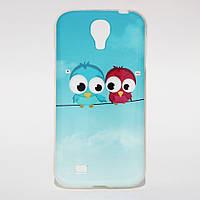 Чехол силиконовый для Samsung Galaxy S4 i9500 Birds
