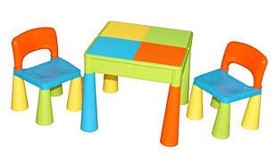 Комплет детской мебели Tega Baby Mamut (стол+2 стула) цвет мультицвет