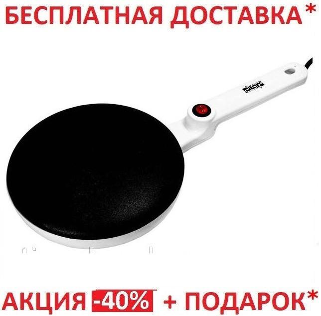 БЛИННИЦА ЭЛЕКТРИЧЕСКАЯ С АНТИ-ПРИГАРНЫМ ПОКРЫТИЕМ DSP KC3016