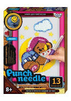 "Ковровая вышивка ""Punch needle: Мишка"" PN-01-09 PN-01-01,02,0 sco"