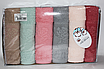 Метровые турецкие полотенца Тесненая Роза, фото 2