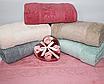 Метровые турецкие полотенца Тесненая Роза, фото 3