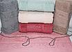 Метровые турецкие полотенца Тесненая Роза, фото 4