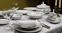Сервиз столовый фарфоровый 6/26 BOLERO 377, сервиз чайный фарфоровый 6/15BOLERO 377