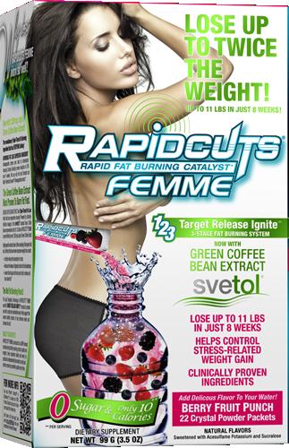 Allmax Rapidcuts Femme 22x4,5g
