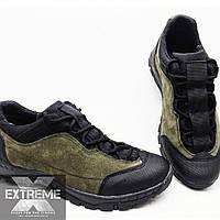 Тактические демисезонные кроссовки олива