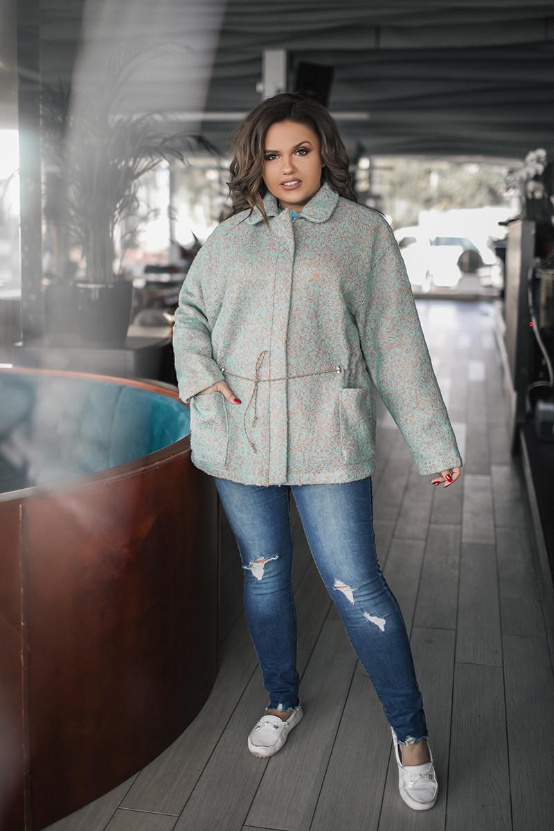 Женское шерстяное пальто 03821