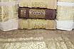 Метрові турецькі рушники Золотий Вензель, фото 4
