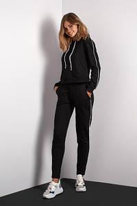 Спортивный костюм черного цвета (Код BR-SK100-03 Чорний)