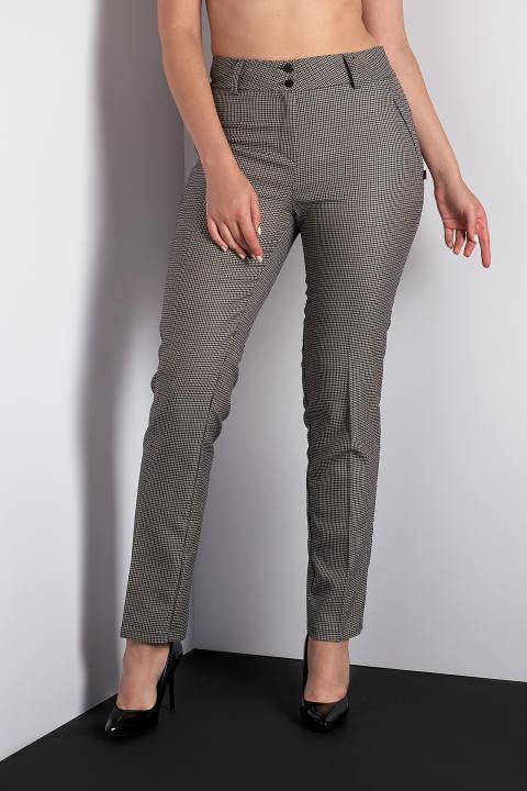 Классические батальные брюки (Код BR-3911 гусяча лапка)