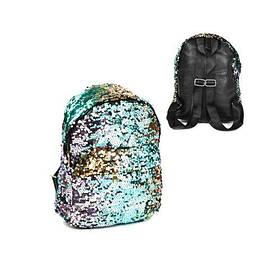 Детский рюкзак с пайетками, большой  scs