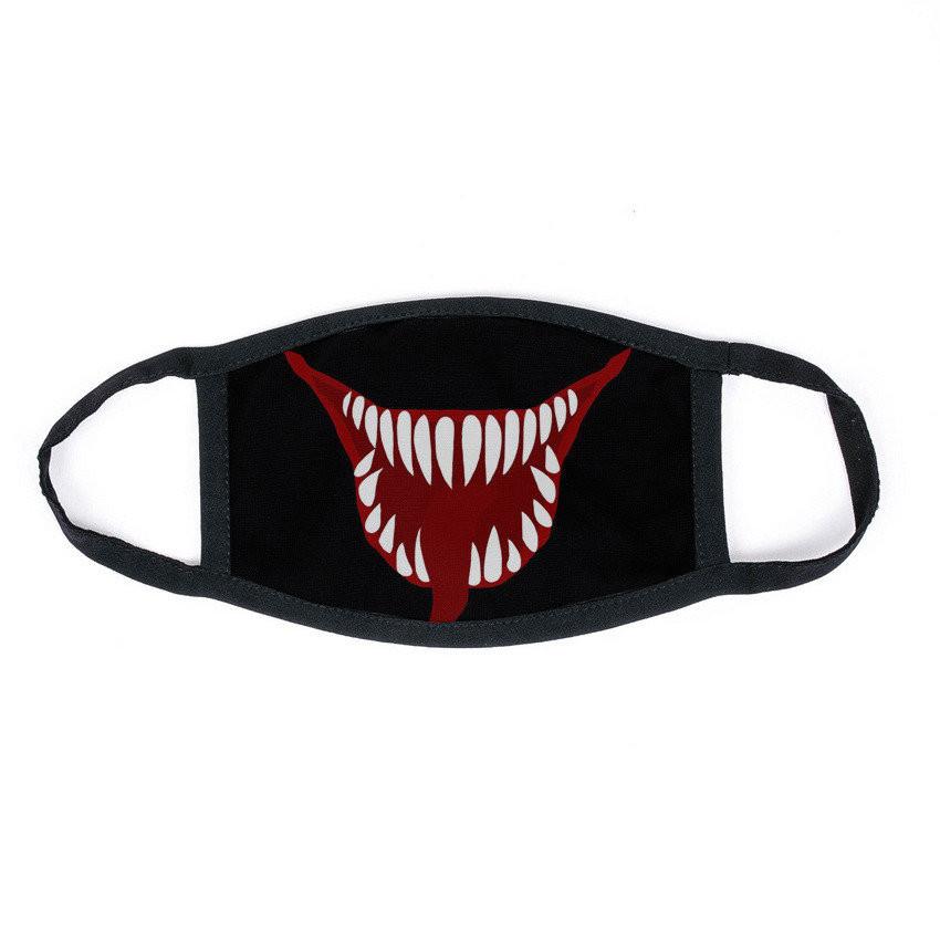 Маска на лицо Hard Stone черная - Venom 3