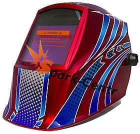 Сварочная маска хамелеон WH-8612H Racer (4 сенсора)