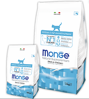 Корм Monge ( Монже ) Cat Kitten с курицей для котят и беременных, кормящих кошек всех пород 1.5