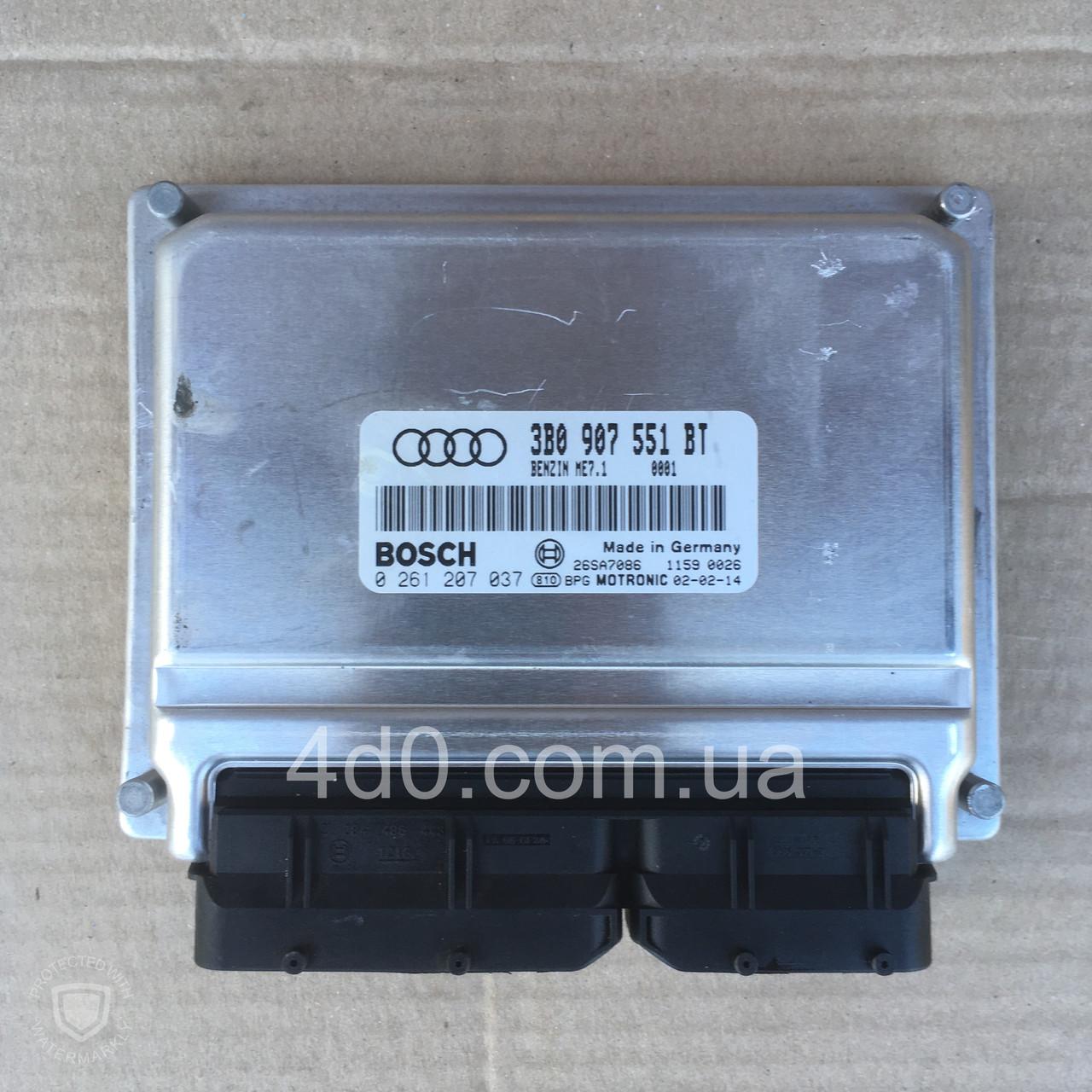 3B0907551BT Блок управління двигуном на Audi A8 D2 2.8