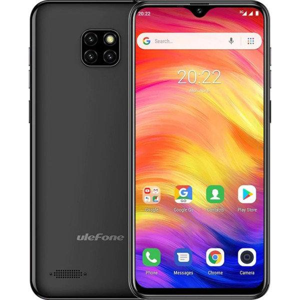 Ulefone Note 7 Black смартфон 1/16GB, 6.1''