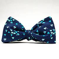 Галстук-бабочка KRAGO Mickey Mouse Синий KRG-00513, КОД: 186984