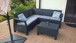 Комплект садовой мебели Allibert Corfu Relax, фото 7