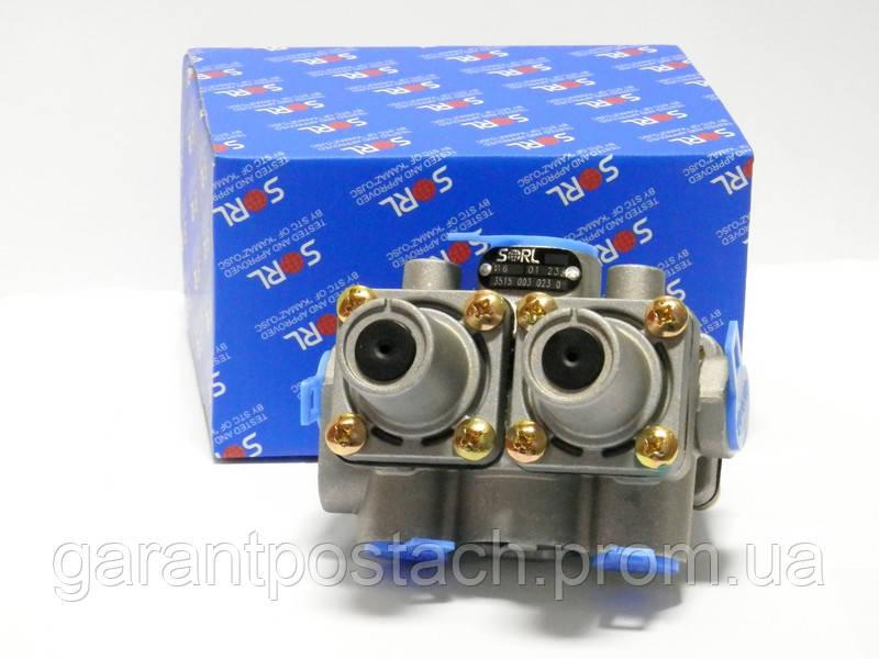 Клапан защитный четырехконтурный КамАЗ (SORL) 35150030230 / 100.3515510-20