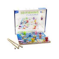 "Игра ""Рыбалка 3D. Поймай лягушку"" Д233у-2 scs"