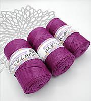 Трикотажный полипропиленовый шнур PP Macrame, цвет Ягодный
