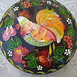 Дерев'яна шкатулка з петриківським росписом, фото 3