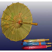 Зонт из шелка с рисунком