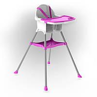 Стульчик для кормления Flamingo, фиолетовый, 03220/3