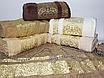 Банные турецкие полотенца Золотой Вензель, фото 3