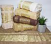 Банные турецкие полотенца Золотой Вензель, фото 5