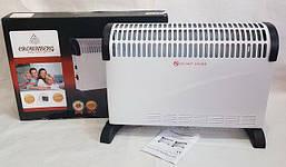 ОРИГИНАЛ Конвектор бытовой Heater CB-2000, Crownberg. Конвекторный электрический обогреватель - Жми КУПИТЬ!