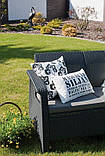Комплект садовой мебели Allibert Corfu Love Seat, фото 3