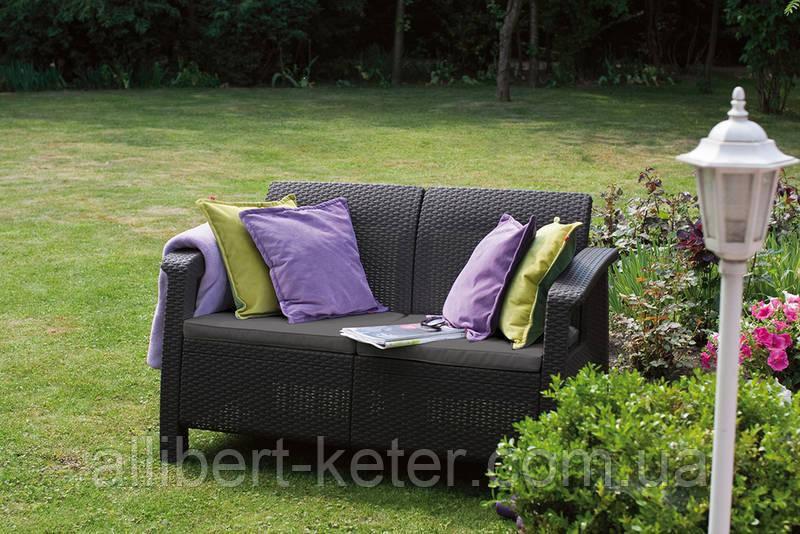 Комплект садовой мебели Allibert Corfu Love Seat