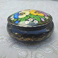 Шкатулка-сувенір з петриківським розписом, фото 1