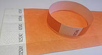 Контрольные браслеты Tyvek Оранжевый (19х255мм)