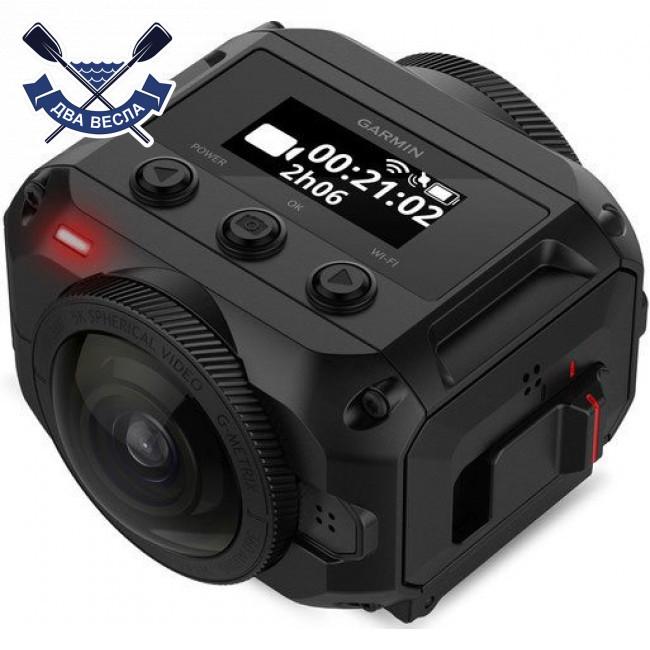 Водонепроникна екшн камера Garmin VIRB 360 з GPS приймачем