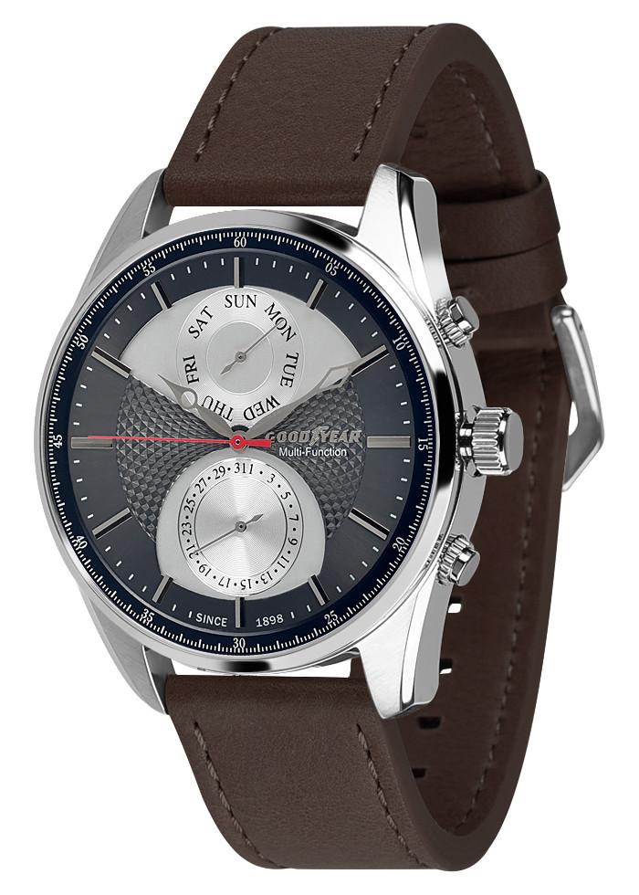 Часы мужские Goodyear G.S01213.01.01 серебряные