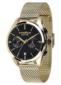 Часы мужские Goodyear G.S01228.01.03 золотые
