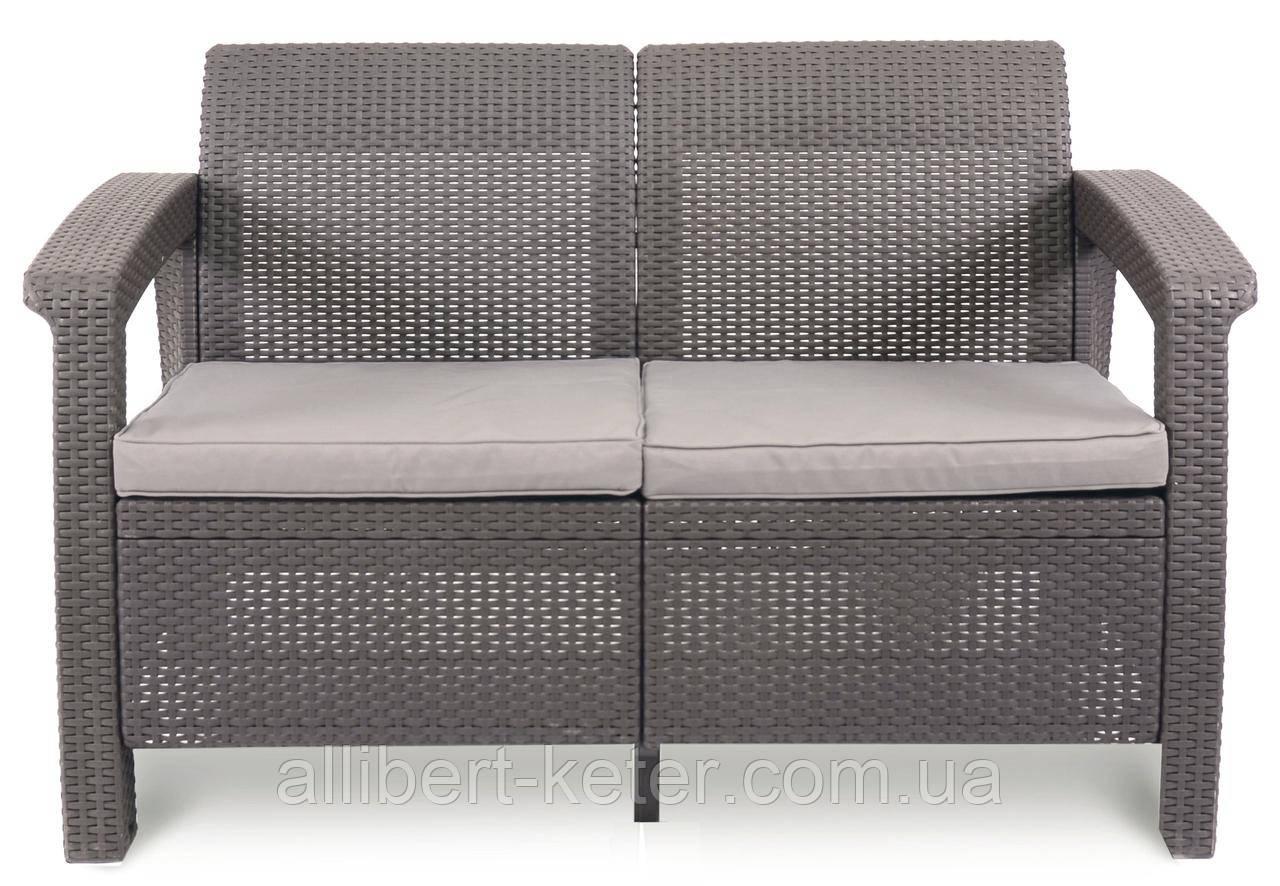 Комплект садових меблів Keter Corfu Love Seat