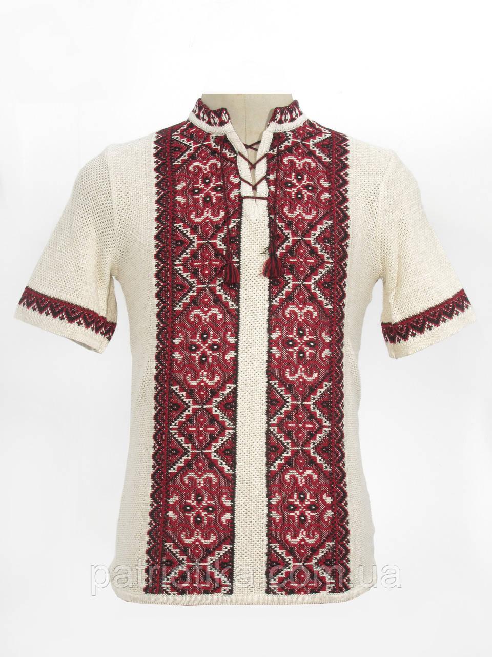 Легкая вязанка на лето Влад красный | Легка в'язанка на літо Влад червоний