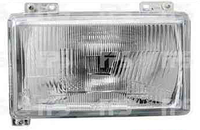 Фара передняя для Citroen C25 81-94 левая (DEPO)