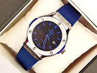 Мужские (Женские) кварцевые наручные часы Hublot Mini на каучуковом ремешке (AAA copy), фото 1