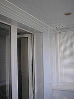 Внутренняя обшивка балконов с утеплением (Пластик)