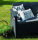 Комплект садових меблів Keter Corfu Love Seat, фото 7