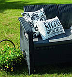 Комплект садовой мебели Keter Corfu Love Seat, фото 7
