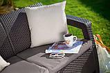 Комплект садових меблів Keter Corfu Love Seat, фото 6