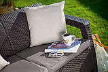 Комплект садовой мебели Keter Corfu Love Seat, фото 6