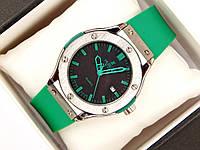 Мужские (Женские) кварцевые наручные часы Hublot Mini на каучуковом ремешке (AAA copy)