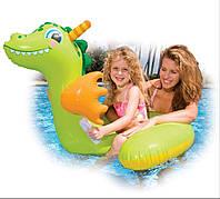 Забавный игрушечный дракон для плавания 56562, изготовлено из поливинилхлорида, с ремкомплектом