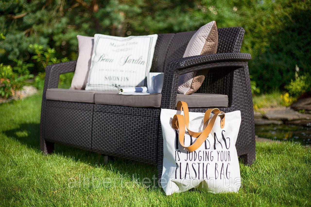 Комплект садовой мебели Curver Corfu Love Seat